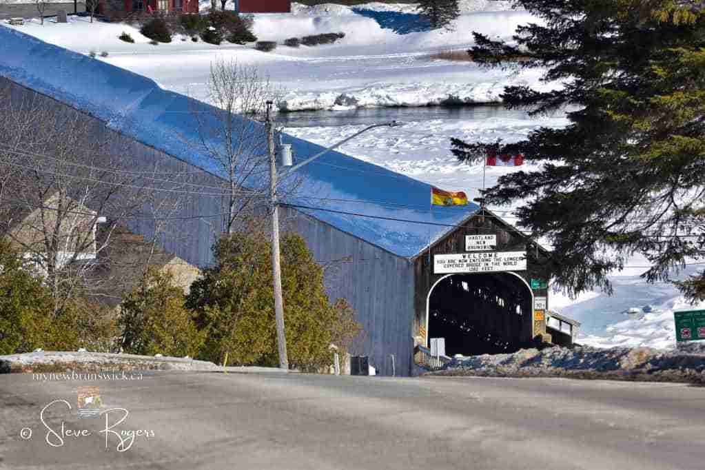 World's longest Covered Bridge Feb 2021