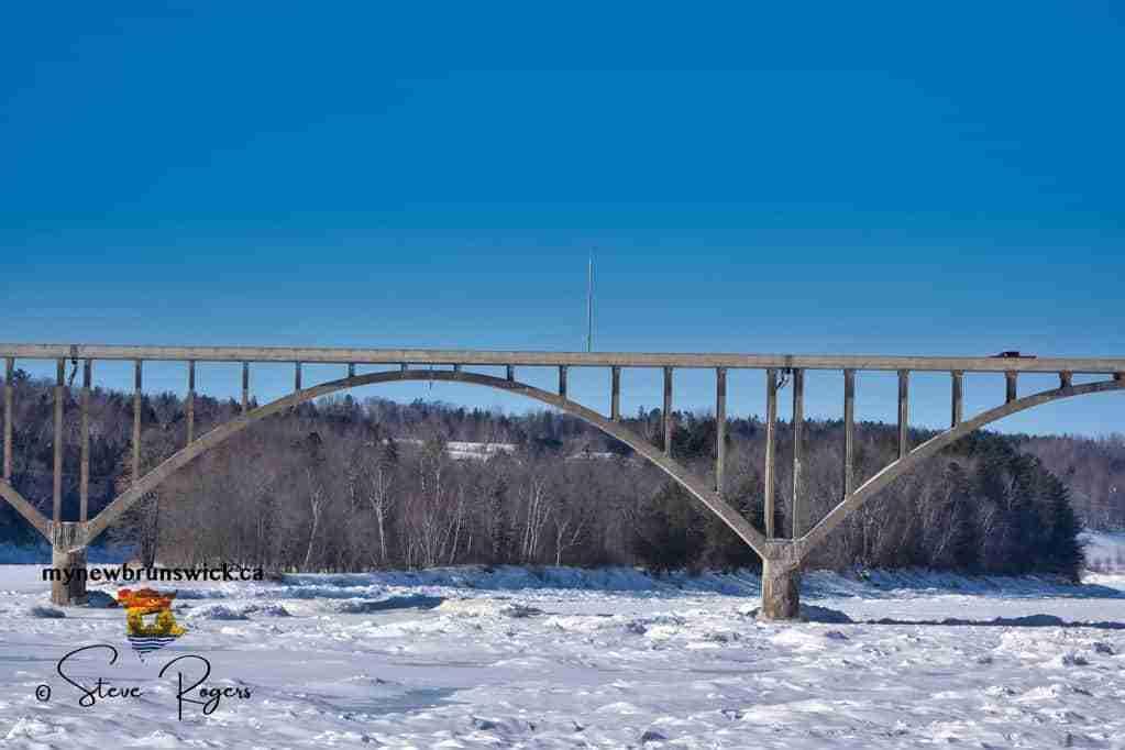 Hugh John Flemming Bridge winter 2021