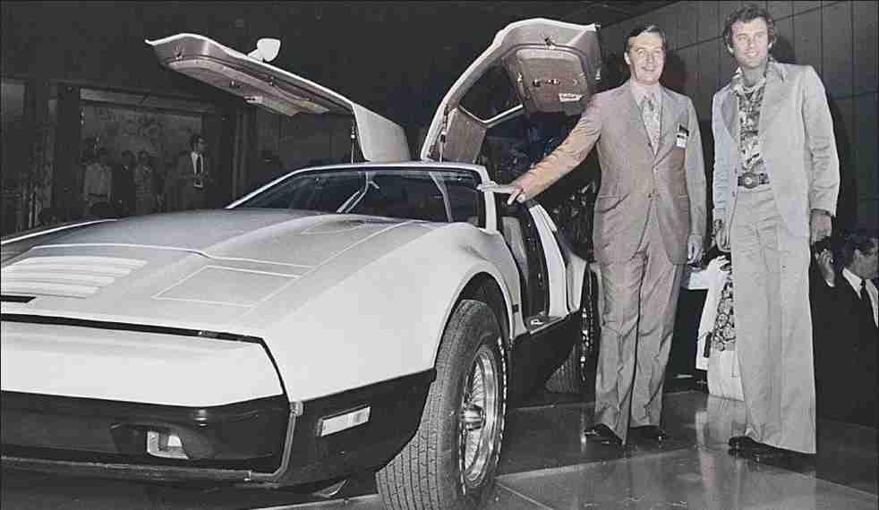 The Bricklin and Richard Hatfield New York 1974