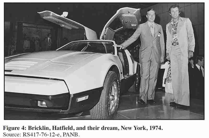 The Bricklin in New York 1974
