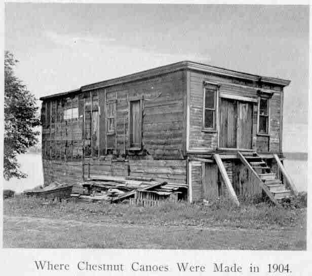 Where Chestnut canoes were originally made in Fredericton, NB