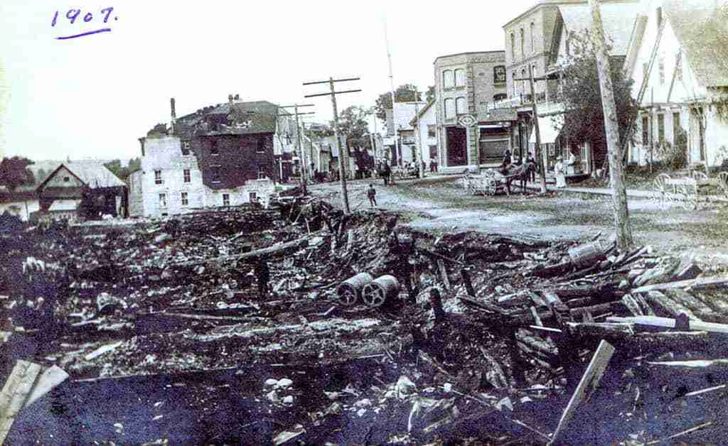 Hartland Fire 1907