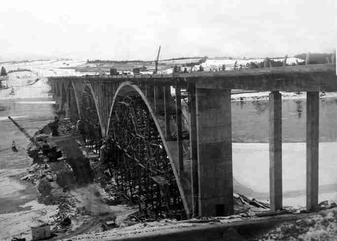 Hugh John Flemming Bridge 1958