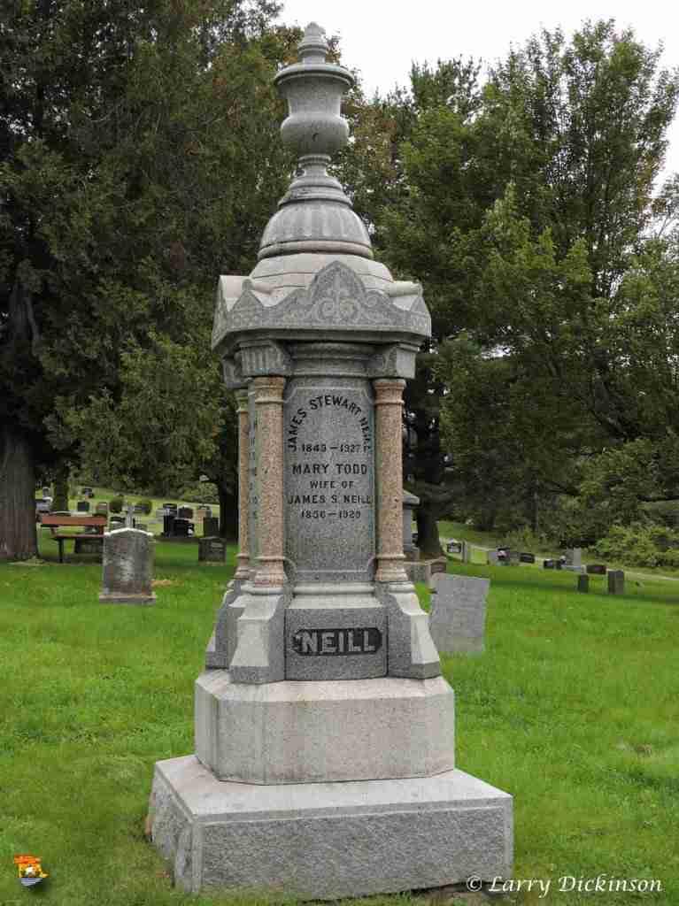 J. Stewart Neill Gravestone