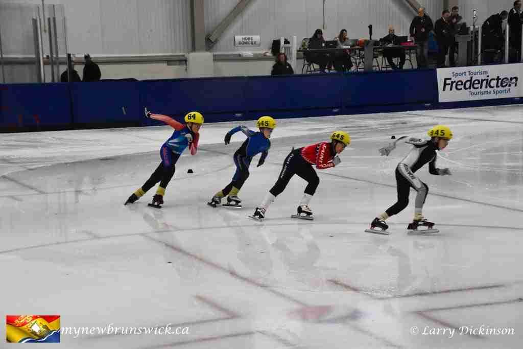 Speed skating at the Grant-Harvey Center
