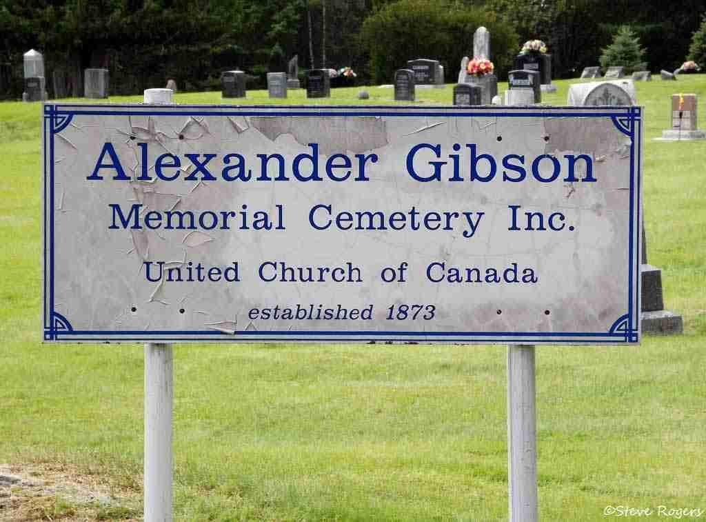 Alexander Gibson's Grave