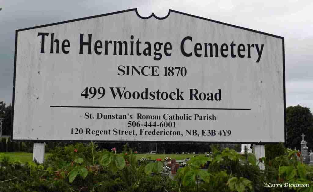Hermitage Cemetery Fredericton