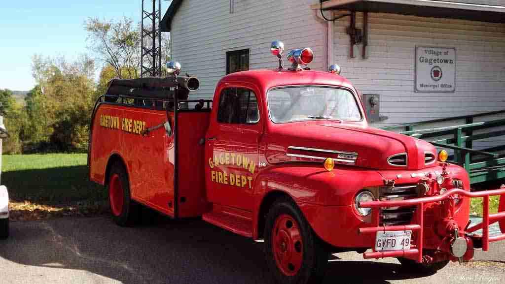 Gagetown Fire Truck
