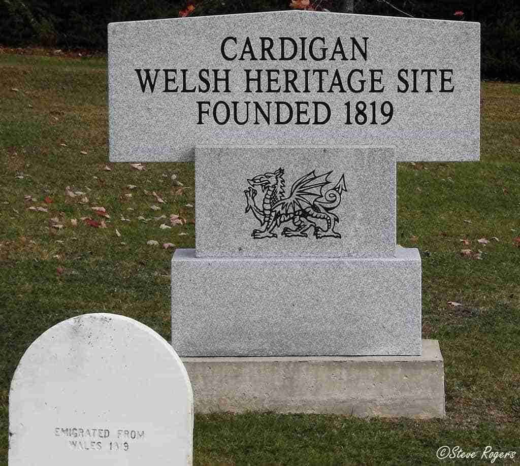 Cardigan NB Welsh Heritage Site Monument