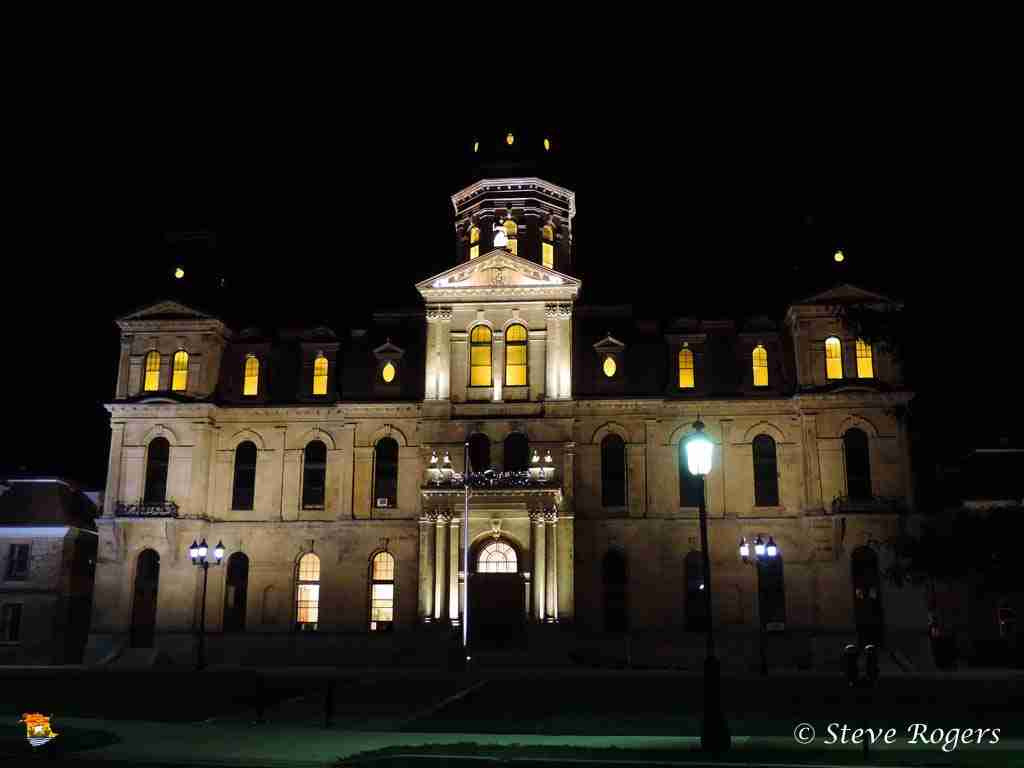 NB Legislature At Night