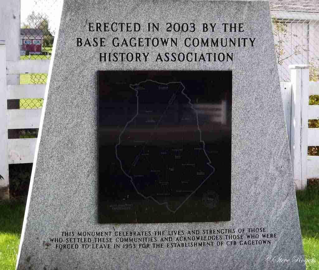 Base Gagetown Monument