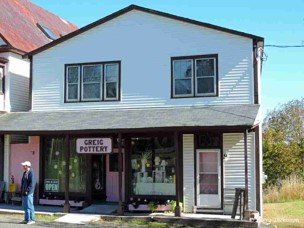 Greig Pottery Gagetown NB