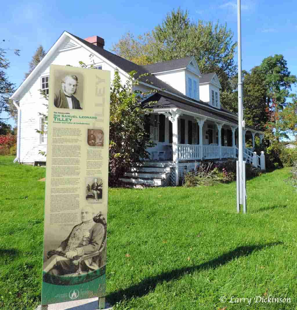 Tilley House Museum, Gagetown, NB