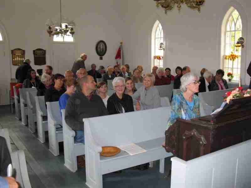 Cardigan NB Welsh Chapel Interior
