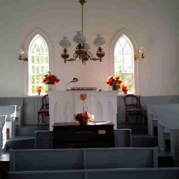 Interior Cardigan NB Welsh Chapel