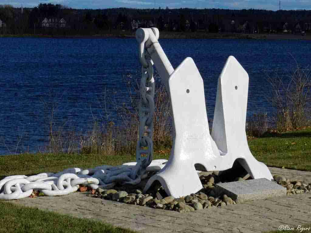 HMCS Fredericton Anchor