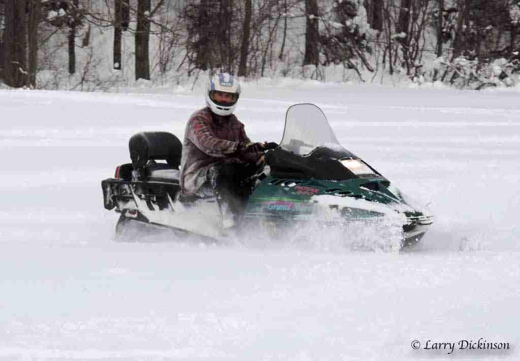 Snowmobile Rider