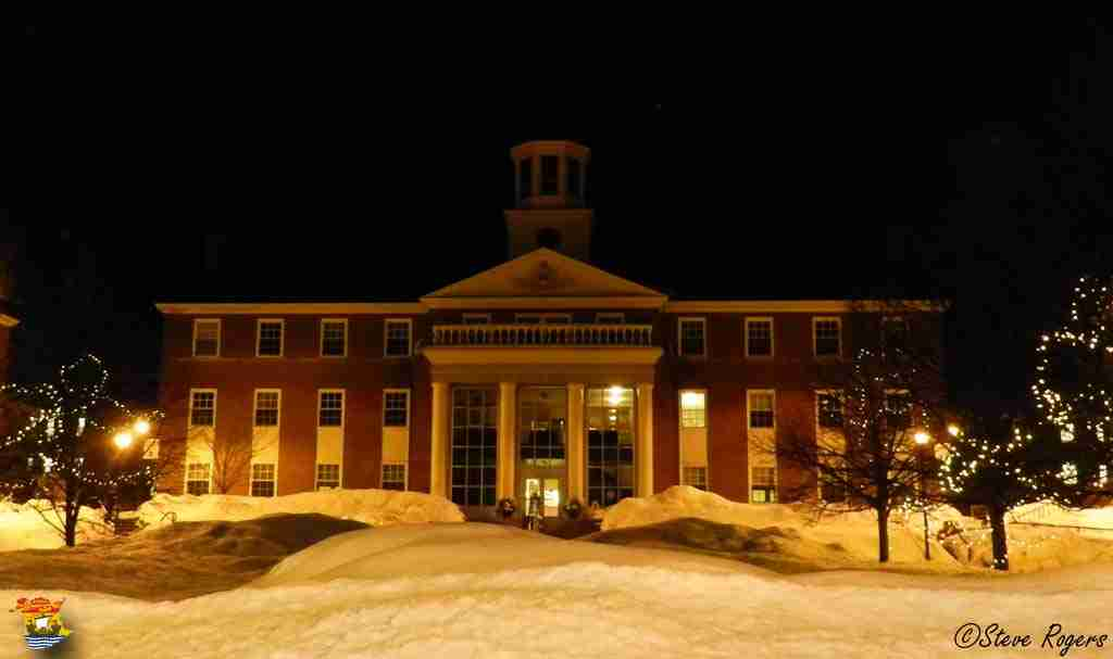 St. Thomas University At Night