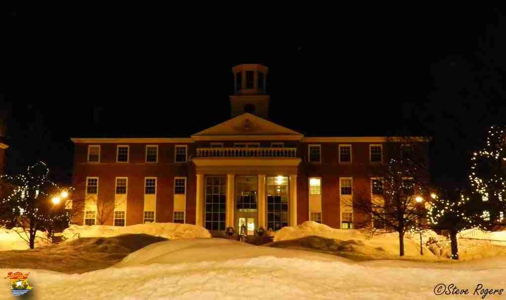 St. Thomas University At Night