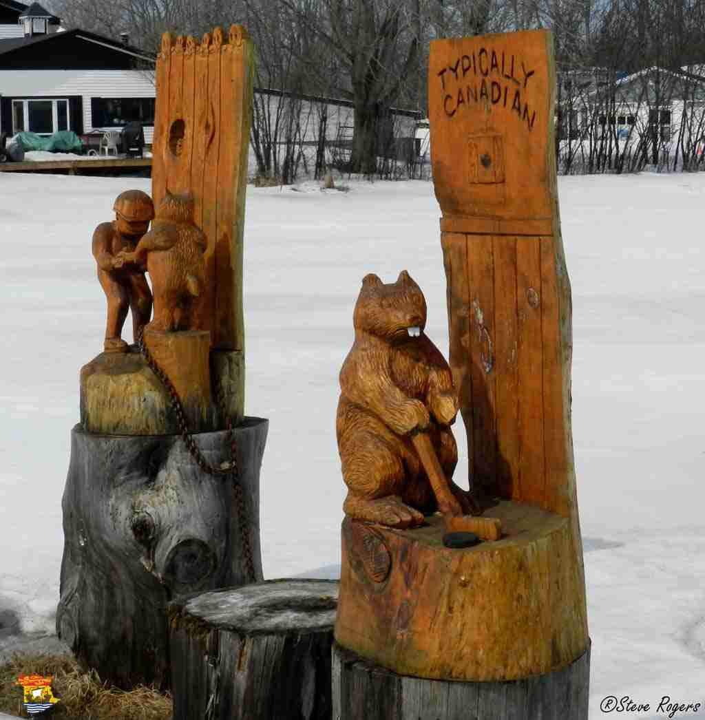 Sheffield chainsaw carvings