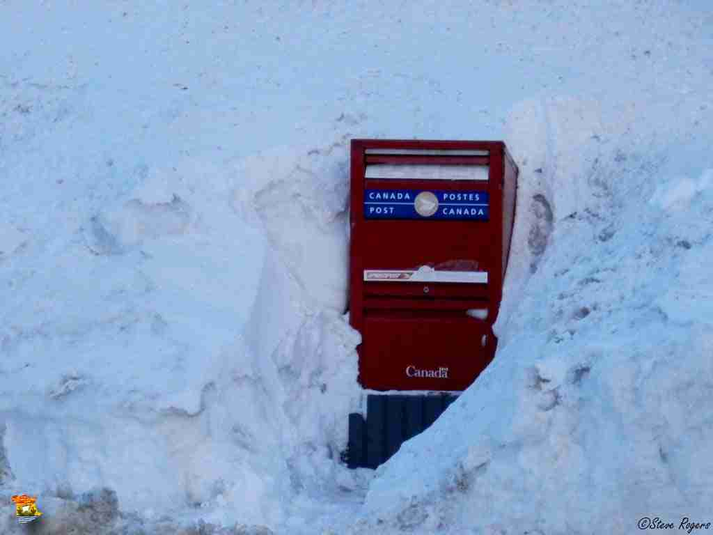 Canada Post Ice Box