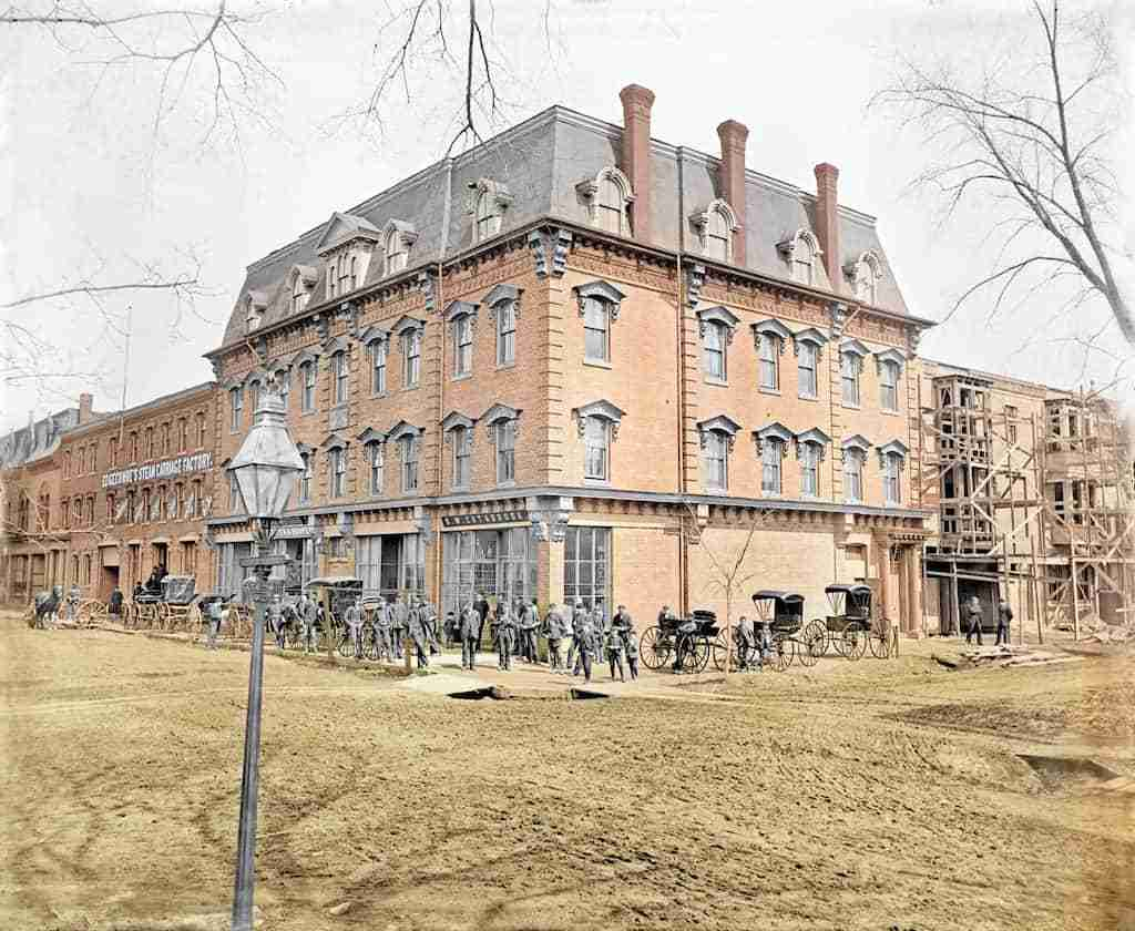 Edgecombe Carriage Factory 1886