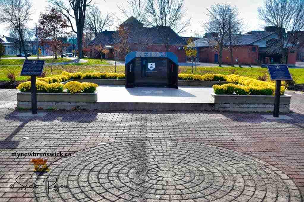 NB Peace Officers Memorial