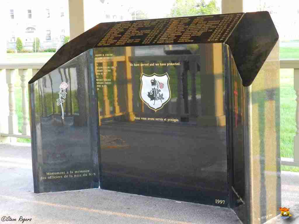 NB Peace Officers' Memorial