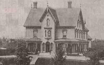 The original Boss Gibson House