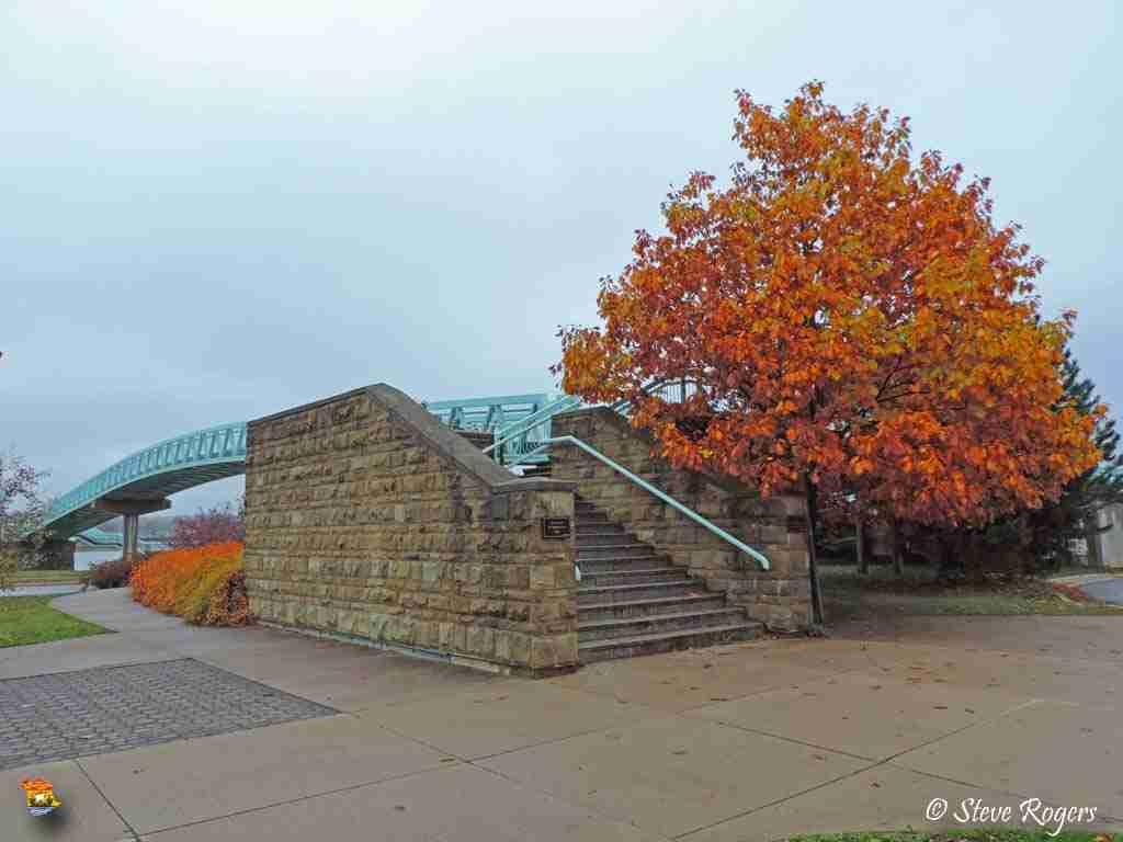 104th New Brunswick Regiment Foot Bridge in Fredericton NB