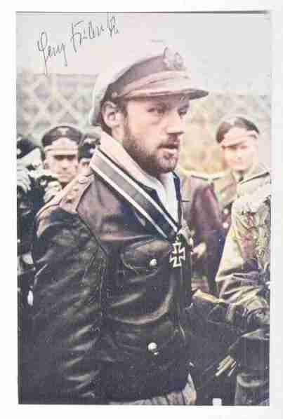 This is U-Boat Captain Heinz Franke (1915-2003)