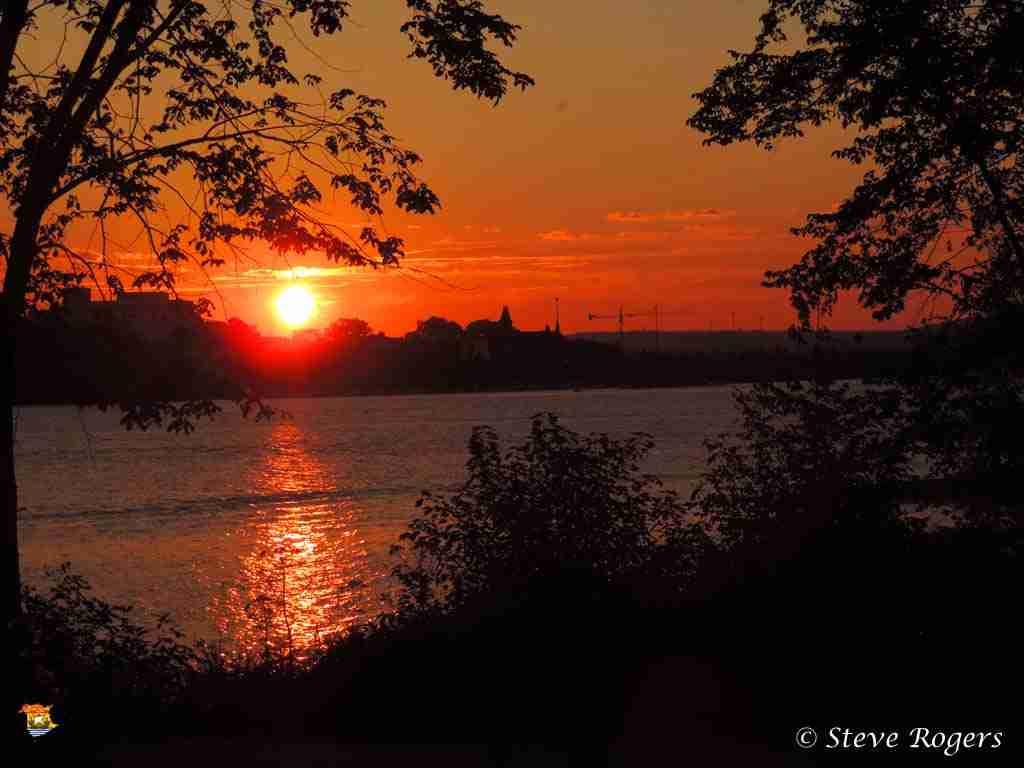 Sunset from Carleton Park