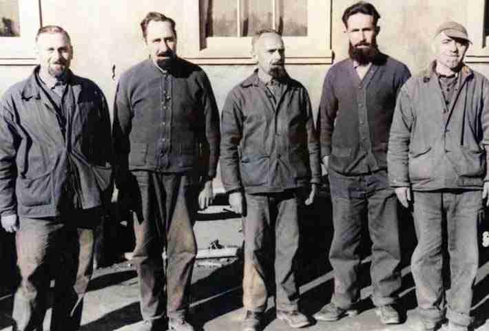 Internment Camp B70 prisoners