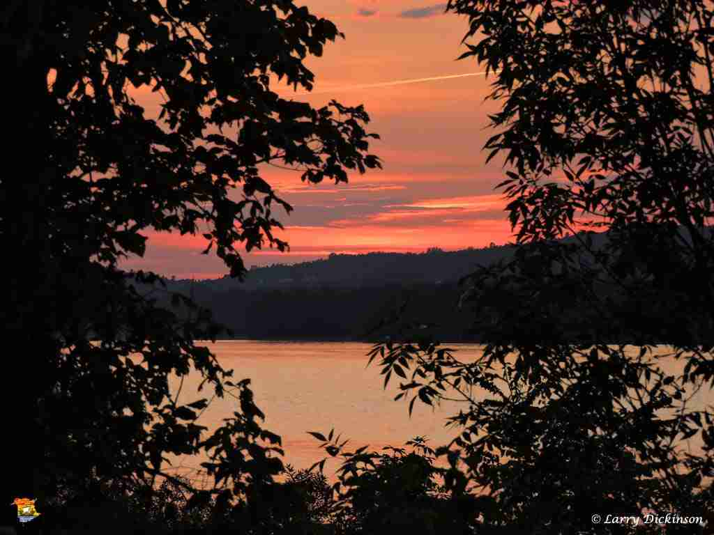 Sunset on the River August 24, 2014