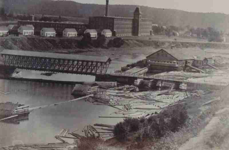 Gibsons Cotton and Wool Mill 1895