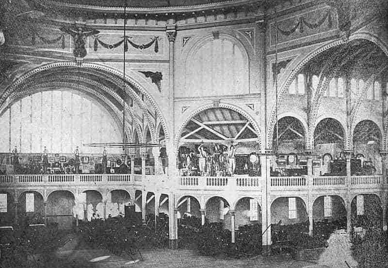Exhibition Pavillion Interior