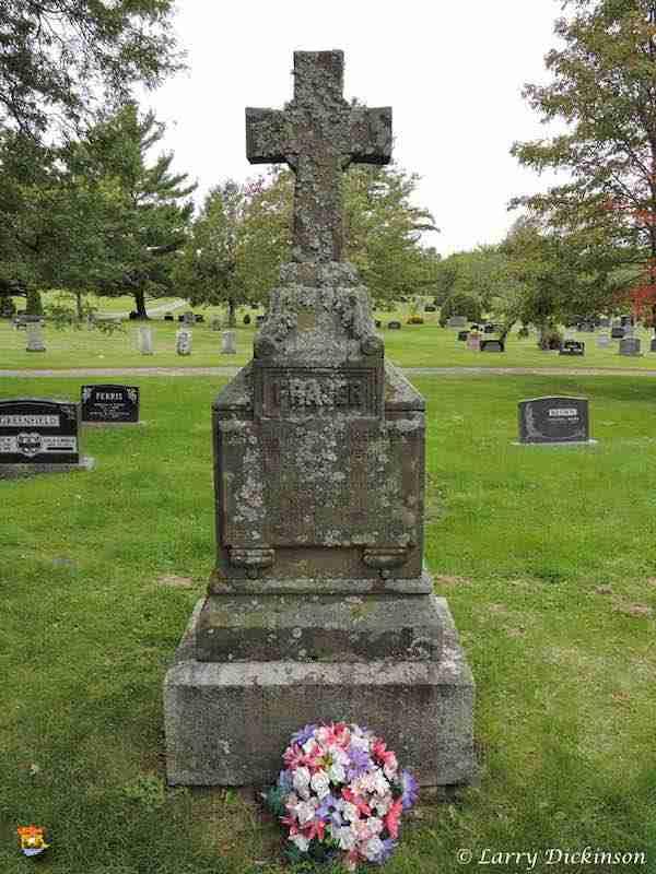 John James Fraser Gravestone