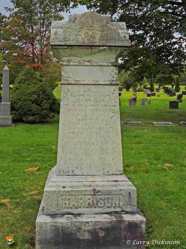 Thomas Harrison Gravestone