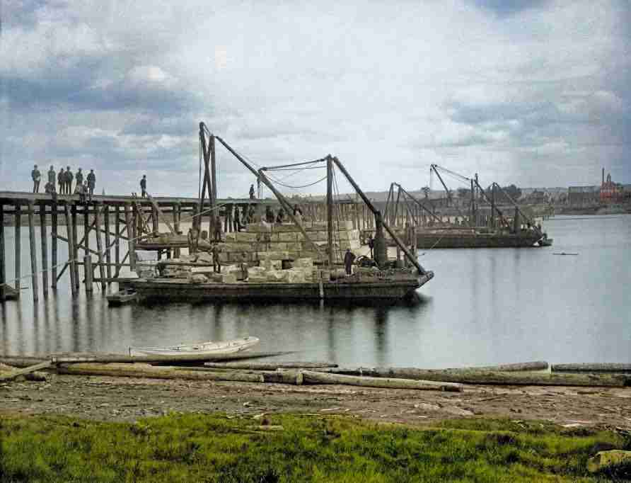 First Railway Bridge Fredericton