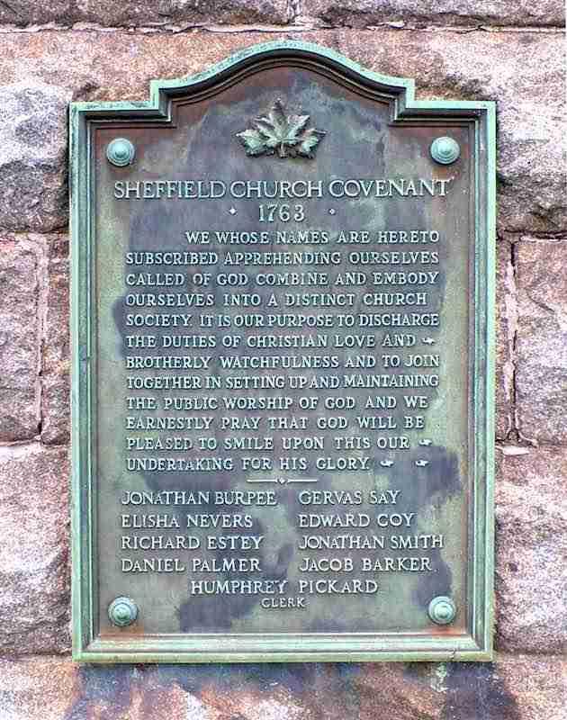 Sheffield Congregational Church Covenant
