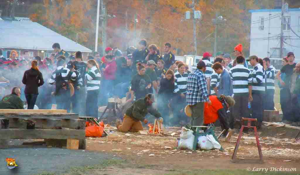UNB Annual Woodsmen Competition