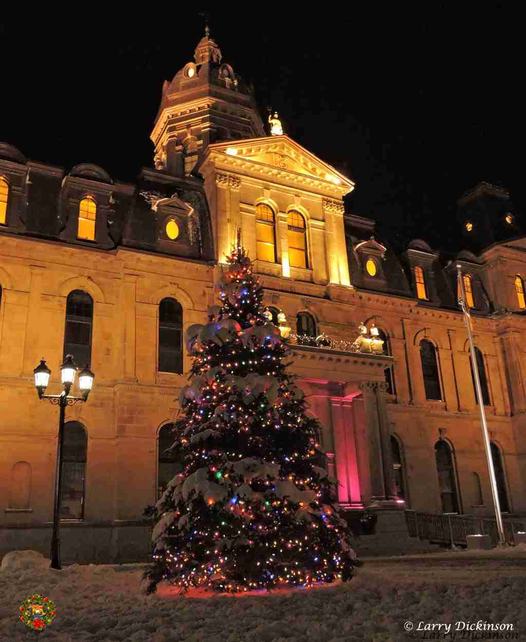 NB Legislature Christmas Tree 2014