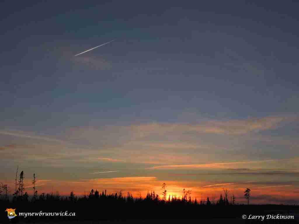 sunset mar 25 01