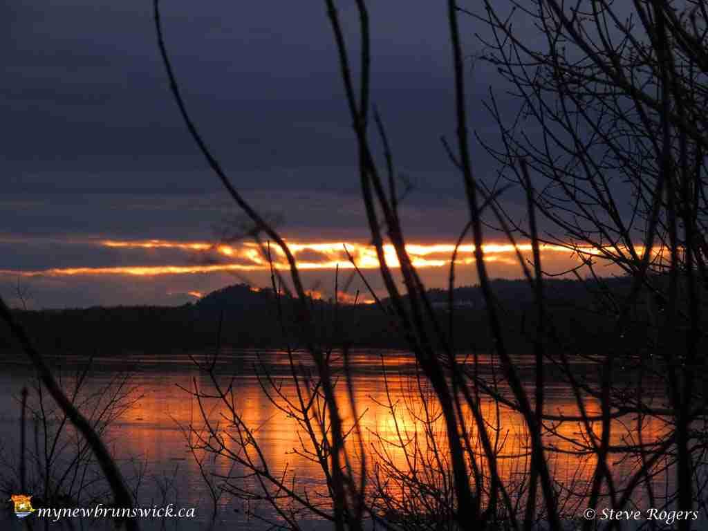 Sunset April 25, 2015