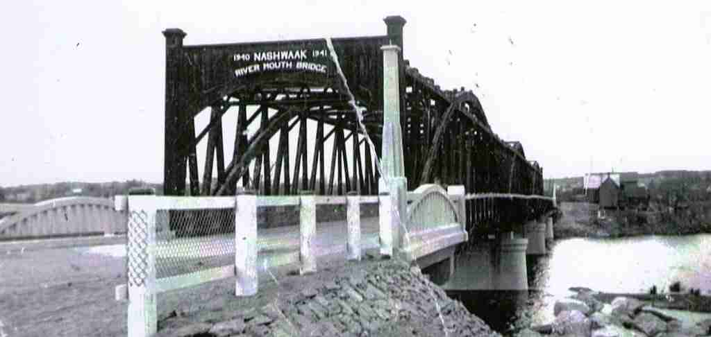 Nashwaak River Mouth Bridge 1940