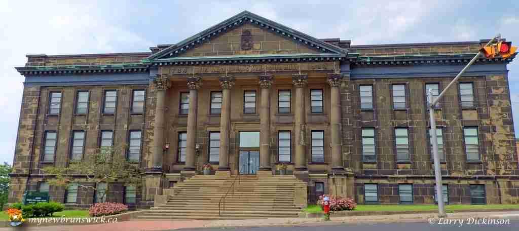 Original New Brunswick Museum on Douglas Avenue in Saint John