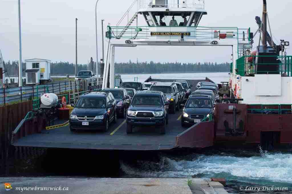 Deer Island Princess Ferry at Deer Island, New Brunswick