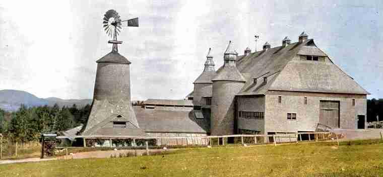 Ministers Island Barn