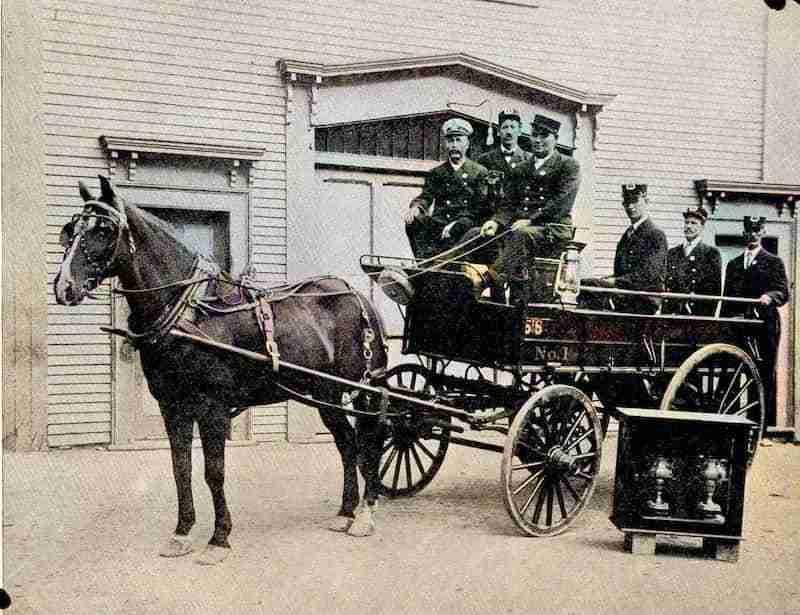 St. Stephen NB Fire Department 1909