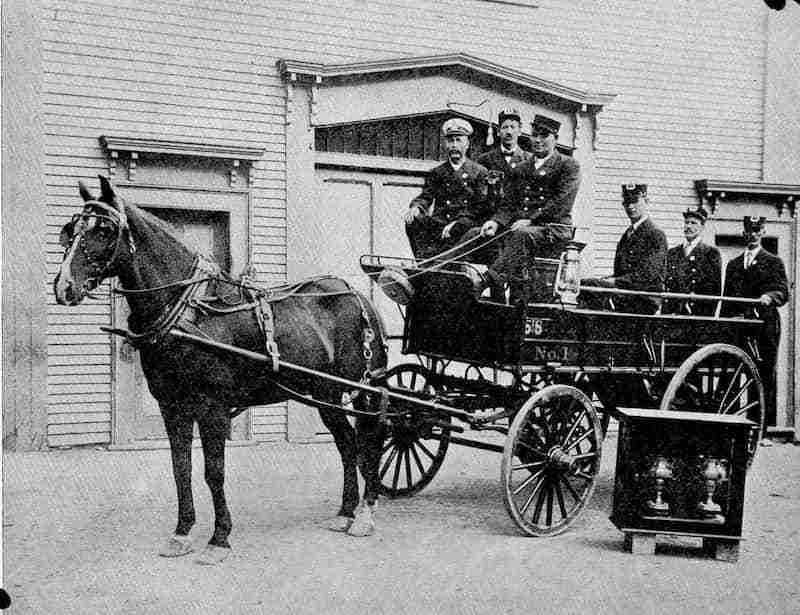 St. Stephen NB Fire Department 1909